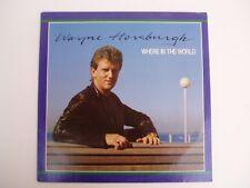 Wayne Horsburgh - Where In The World - RARE OZ LP
