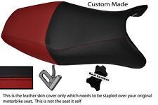 DARK RED & BLACK CUSTOM FITS HONDA CBR 1100 XX SUPER BLACKBIRD 96-07 SEAT COVER