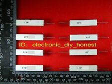 10PCS 22 ohm 22RΩJ 10 watt Axial  ceramic cement power resistor 10W #BM406-2