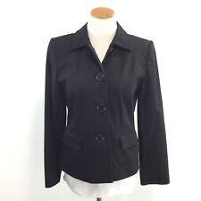 Josephine Chaus Petite Womens 10 P Black Blazer Jacket Fully Lined Great Look