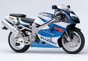 SUZUKI TL1000R R 1998- FRONT & REAR STAINLESS BRAIDED BRAKE KIT  GSX-R