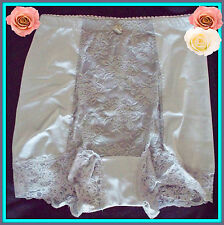 S Small  RHONDA SHEAR GRAY  Shabbie Chic LACE Control Brief PANTIE Boyshort