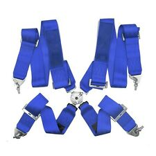 Blue 4 Point racing Harness - FIA 2018 4 Point Harness 4 Point Lock Takata Logo