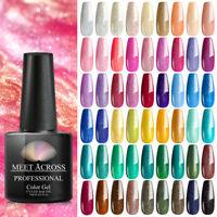 MEET ACROSS 7ML Holographic Glitter Soak Off UV Gel Nail Polish Varnish Manicure