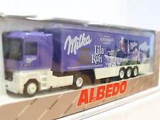 Albedo Renault Koffersattelzug Milka 20 Jahre Lila Kuh OVP (N1267)