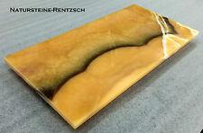 Tischplatte Bodenplatte Couchtischplatte Abdeckung Kommode Nachttisch Stein ONXY
