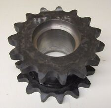"MARTIN DS12A15H 120 15 3-1/4"" BORE 15 TEETH PER ROW DOUBLE ROW SPROCKET NEW"