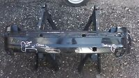 FORD FOCUS MK2 REAR BUMPER 2004-2008 in BLACK - MARK 2 - SEE IMAGES GENUINE FORD