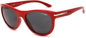 Arnette BLOWOUT 204087 Red Pastel Frames / Grey Lenses AN4142-05 Brand New