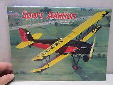 Sport Aviation Magazine November 1993 Airplane Aircraft Les Steen's Legacy