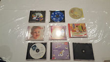 Baby Childrens Learning Sleep Lullaby Music CDs  Mixed Lot FISHER PRICE, BACH