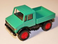 Unimog U 1500 in grün verde vert green, Cursor #974 in 1:43 - RED RIMS - VSC!