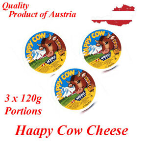 Cheese Happy cow 8-portion 120gx3 units Free Shipping