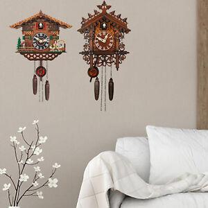 Cuckoo Clock Antique Child Room Wall Clocks Home Decor Handcrafted Ornament