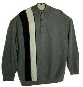 Nat Nast Luxury Originals Men XL Pullover Cotton / Wool Long Sleeve Sweater