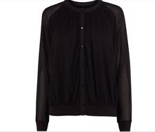 Karen Millen -- £145 - Popper - Sheer Sleeve - New With Tag - Size 14