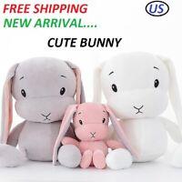 New Cute Bunny Plush Toy Baby Kids Animal Stuffed Soft Rabbit Doll Gift US 50CM