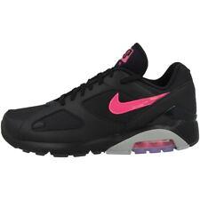 Nike Air Max 180 Schuhe Herren Low Cut Sneaker Turnschuhe black pink AQ9974-001
