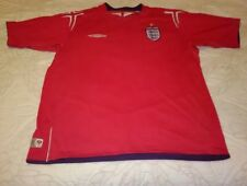 Angleterre Rouge 2004/2006 Umbro Football shirt est une taille XL