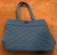 Vera Bradley Tote in Coastal Blue - Shoulder Bag - Purse - Handbag - Microfiber