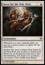 *MRM* FR 4x Quête de la Relique sacrée (Quest for the Holy Relic) MTG Zendikar