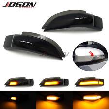 Black For Toyota Camry Corolla Yaris Vios LED Dynamic Mirror Turn Signal Light