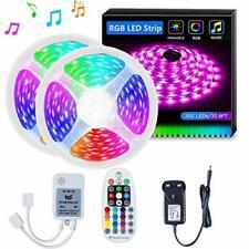 LED Strip Lights SELIAN 5050 10m LED Lighting Strips Sync to Music RGB Rope