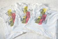 3 Stück Eat Ants by Sanetta T-Shirt Shirt Gr. 140 - 152 Weiß mit Motiv