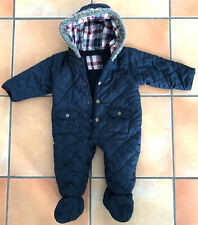 My Little Bear Wagenanzug Winteranzug Steppanzug Schneeanzug Gr. 68 Overall blau