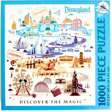 DISNEYLAND RESORT DLR  Discover the Magic 1000 PIECE PUZZLE  NEW BOXED FREE SHIP