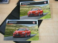 VAUXHALL ASTRA J SERVICE BOOK **NO SERVICE STAMPS** SUPERB CONDITION