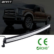50INCH 500W CURVED LED Work Light Bar FLOOD SPOT Combo for Offroad UTE 4X4 4WD