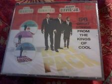 THE RAT PACK Kings of Cool 3 CD Box-set Frank Sinatra 56 songs New POST FREE