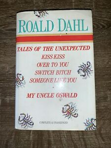 Roald Dahl complete and unabridged - Tales of the Unexpected - hardcover DJ 1986