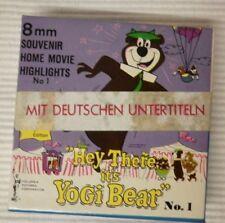 Yogi Bear No 1 Hey There It's Yogi Bear ca 15 m N 8mm s/w stumm deutsche UT NOS