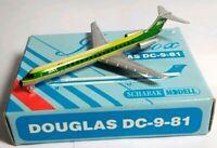 SCHABAK 1:600 SCALE DIECAST SAT DOUGLAS DC-9-81 - 904/34