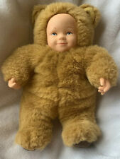 New ListingAnne Geddes Baby Bear Doll 1998 Unimax Toys Ltd Vintage