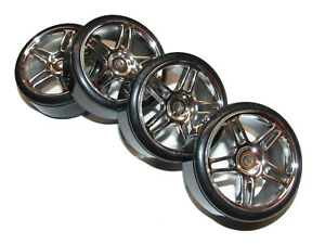 Redcat Lightning EPX Drift Touring Car Front & Rear 12mm Wheels & Tires