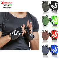 Unisex Bike Cycling Gloves Outdoor Sports Climbing Non-slip Half Finger Glove