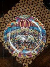 Franklin Mint McDonalds Bill Bell Limited Edition Numbered Plate Golden Showcase
