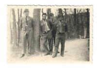 Foto, Kronberg, Taunus, 4 Männer in Uniform, 1954
