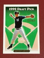 1993 Topps Gold #98 Derek Jeter RC Rookie New York Yankees -Future Hall of Famer