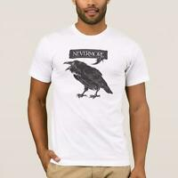 Nevermore Raven Men's T-Shirt | Edgar Allan Poe Inspired