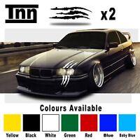 BMW E90 E91 E92 3 M Performance Monster Scratch Stripe Sticker Decal Livery