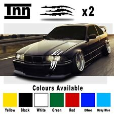 BMW E90 E91 E92 3 M Performance Monster Scratch Stripe Sticker Decal Livery