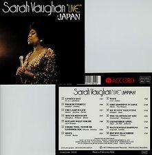 SARAH VAUGHAN  live in Japan , 1973