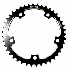 gobike88 Driveline black chainring 42T, BCD 130mm, 53g, SUPER ROAD, 198