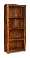 Sheesham Furniture Cube Solid Bookcase (c8)