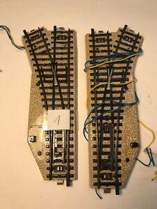 Märklin H0 M-Gleis 5202 elektrisches Weichenpaar R2 #1 [Q4/20]