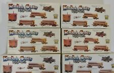 Job lot of unopened Kadee HO Scale logging car and caboose kits logging railroad